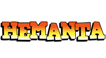 Hemanta sunset logo