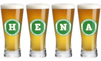 Hena lager logo