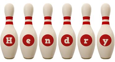 Hendry bowling-pin logo