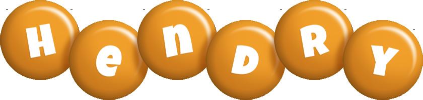 Hendry candy-orange logo