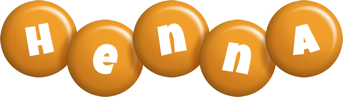 Henna candy-orange logo