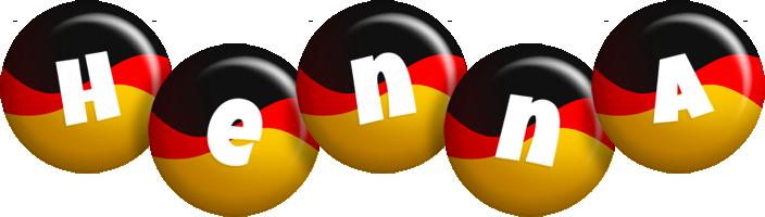 Henna german logo