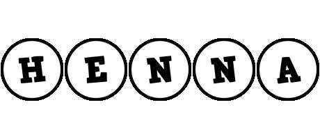 Henna handy logo
