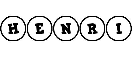 Henri handy logo