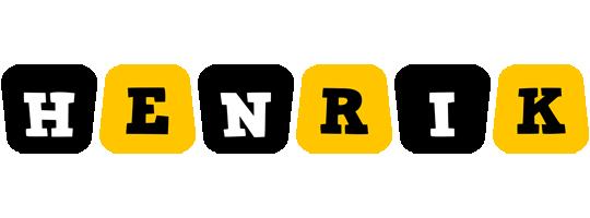 Henrik boots logo