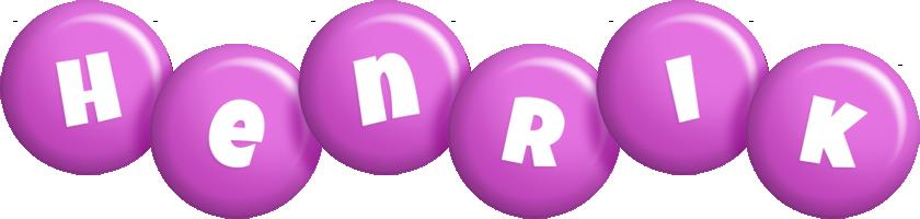 Henrik candy-purple logo