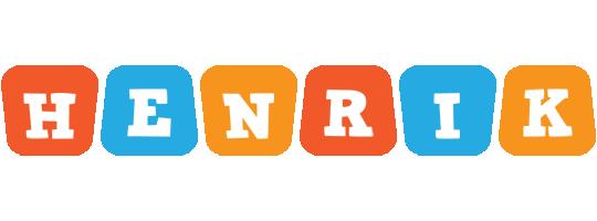Henrik comics logo