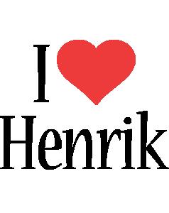 Henrik i-love logo