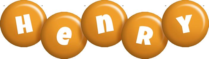 Henry candy-orange logo
