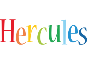 Hercules birthday logo