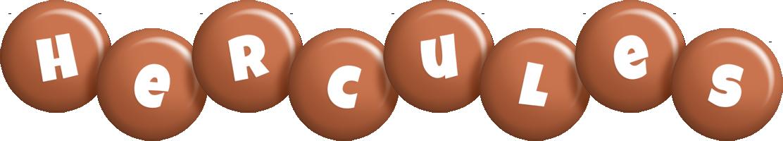 Hercules candy-brown logo