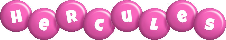 Hercules candy-pink logo