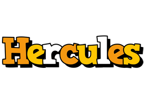 Hercules cartoon logo