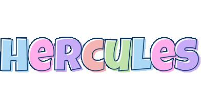 Hercules pastel logo