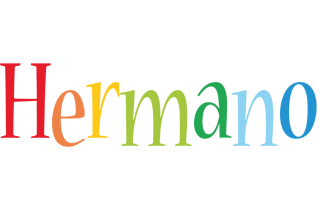 Hermano birthday logo