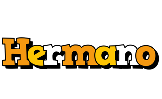 Hermano cartoon logo