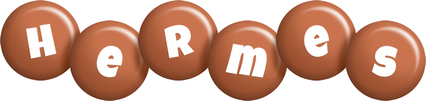 Hermes candy-brown logo