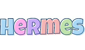 Hermes pastel logo