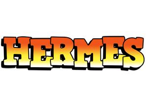 Hermes sunset logo