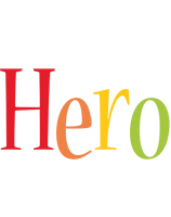 Hero birthday logo