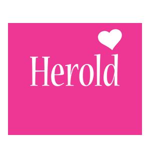 Herold love-heart logo