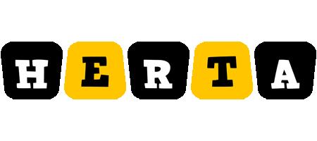 Herta boots logo