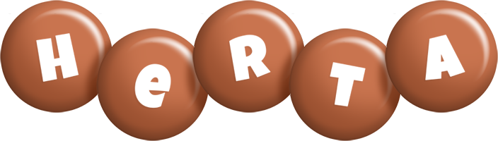 Herta candy-brown logo