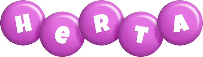 Herta candy-purple logo
