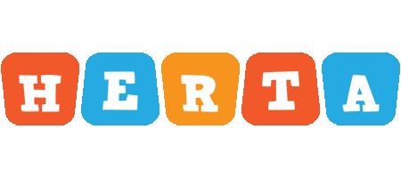 Herta comics logo