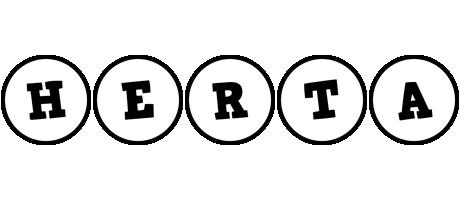 Herta handy logo