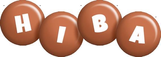 Hiba candy-brown logo