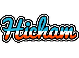 Hicham america logo