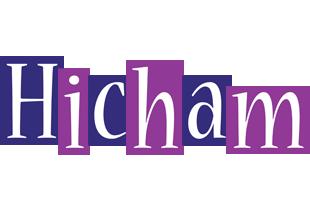 Hicham autumn logo