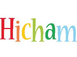 Hicham birthday logo