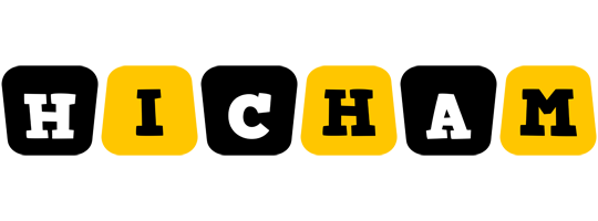 Hicham boots logo