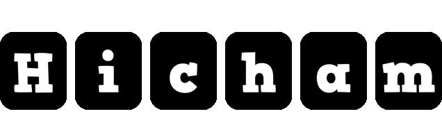 Hicham box logo