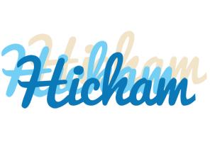 Hicham breeze logo