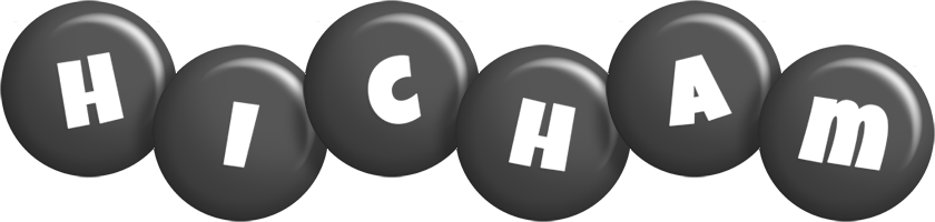 Hicham candy-black logo