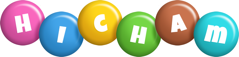 Hicham candy logo