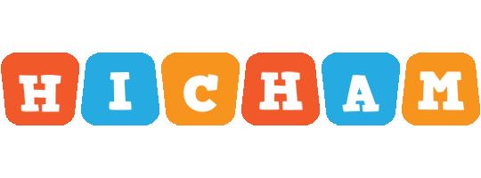 Hicham comics logo