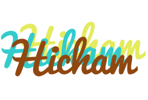 Hicham cupcake logo
