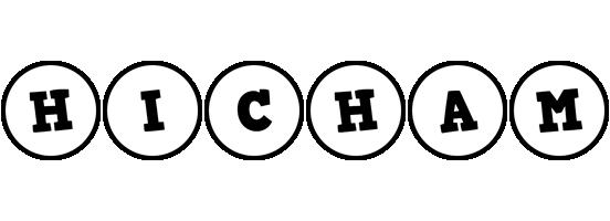 Hicham handy logo