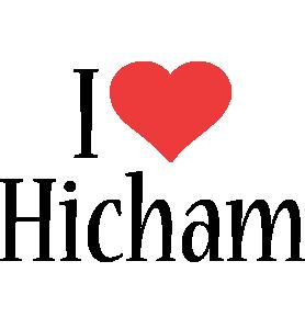 Hicham i-love logo