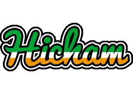 Hicham ireland logo