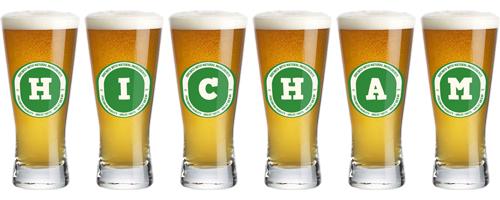 Hicham lager logo