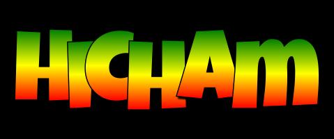Hicham mango logo