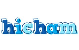 Hicham sailor logo