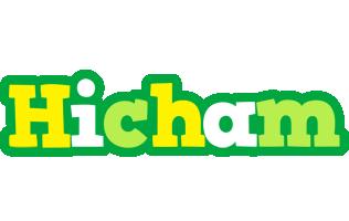 Hicham soccer logo
