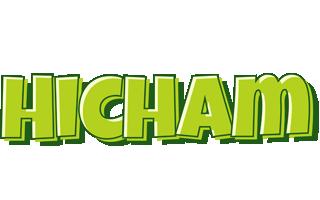 Hicham summer logo