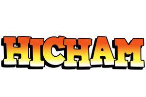 Hicham sunset logo